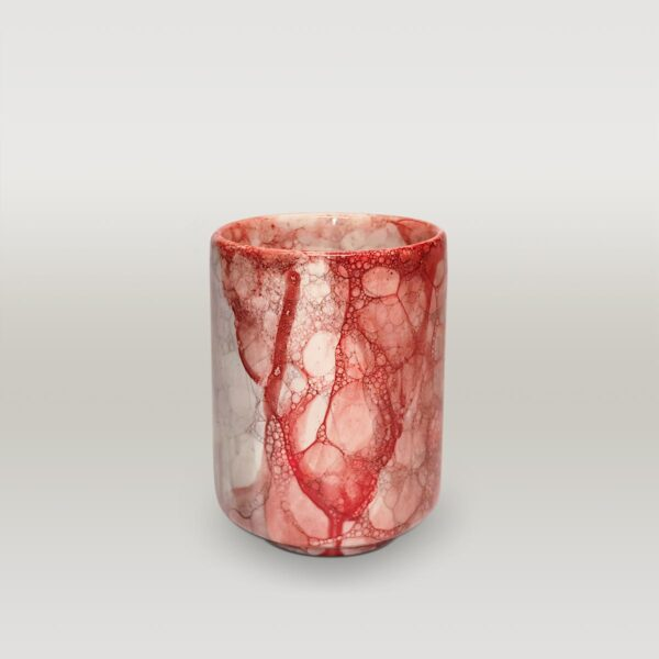 Red Black Balloon Effect Mug