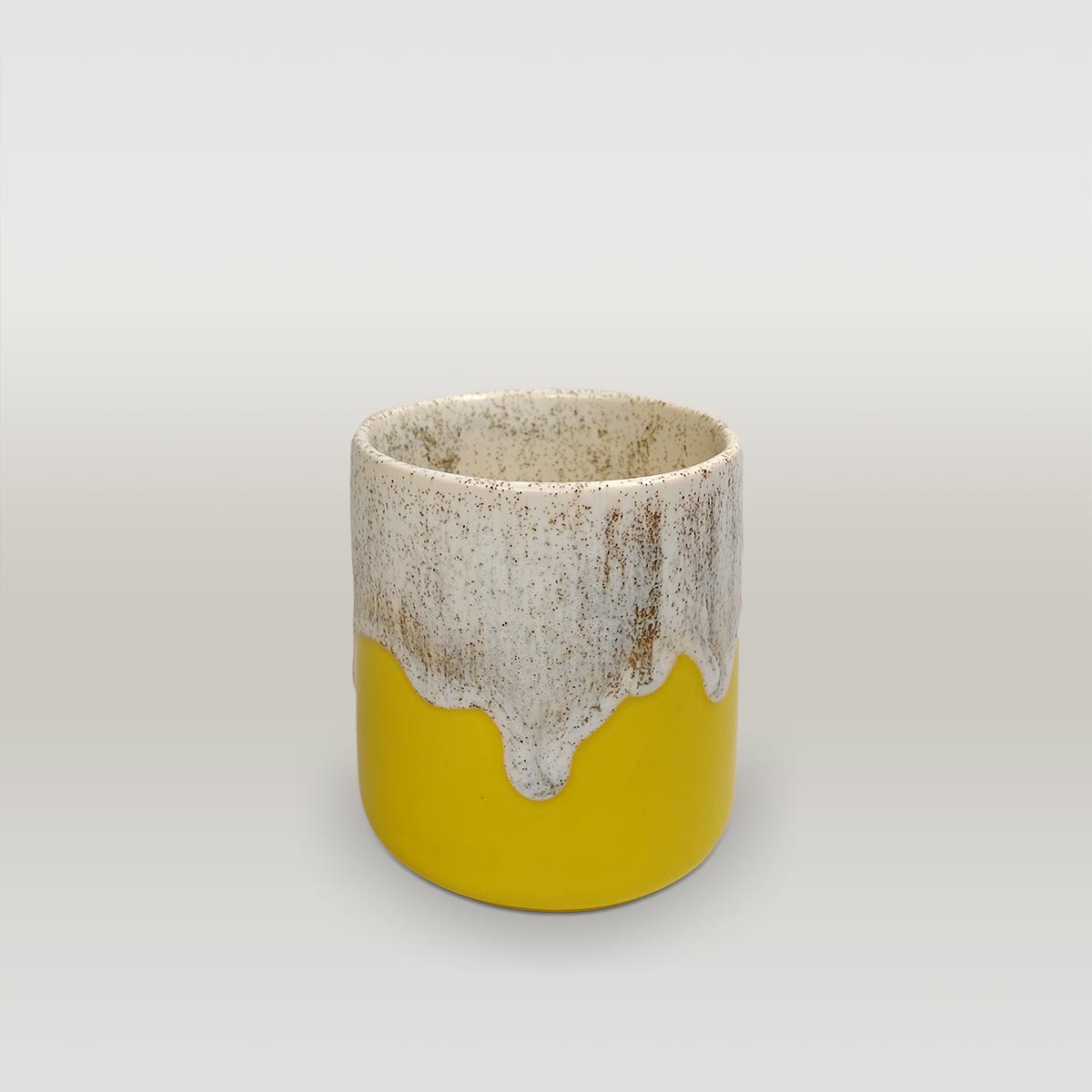 Molecule's Classic White Yellow Filter Mug