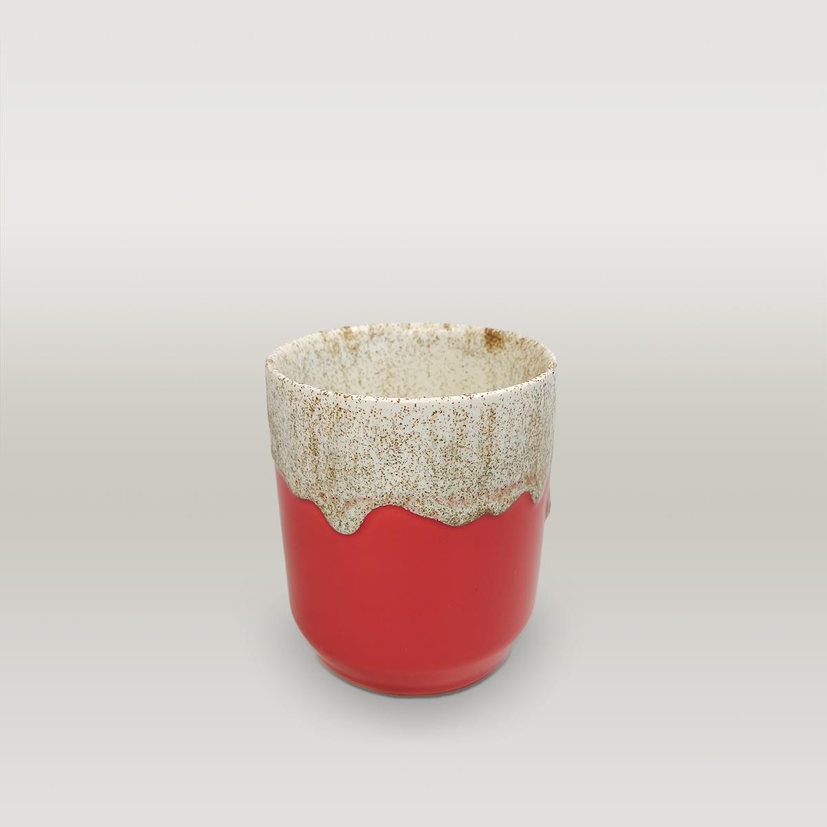 Molecule's Classic Red White Mug 1