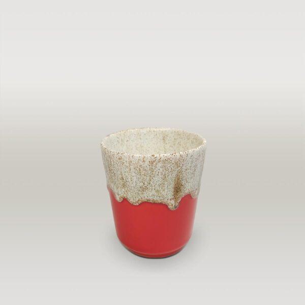 Molecule's Classic Red White Mug 2