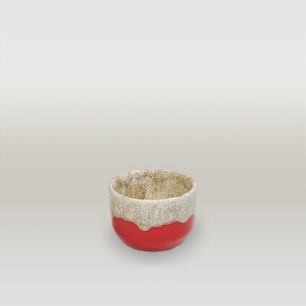 Molecule's Classic Red White Small Mug